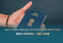 Bảo lãnh nhà đầu tư, lao động, doanh nghiệp nước ngoài nhập cảnh vào Việt Nam