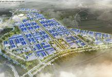 Phối cảnh tổng thể Khu công nghiệp sạch Sóc Sơn (SSIP)