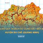 Tải về quy hoạch sử dụng đất huyện Ba Chẽ (Quảng Ninh)