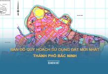 Tải về bản đồ quy hoạch sử dụng đất Thành phố Bắc Ninh