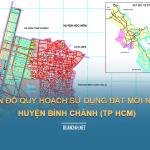 Tải về bản đồ quy hoạch sử dụng đất huyện Bình Chánh (TP HCM)
