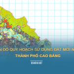 Tải về bản đồ quy hoạch sử dụng đất Thành phố Cao Bằng