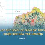 Tải về bản đồ quy hoạch sử dụng đất huyện Định Hóa (Thái Nguyên)