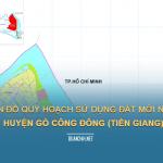 Tải về bản đồ quy hoạch sử dụng đất huyện Gò Công Đông (Tiền Giang)