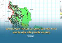 Tải về bản đồ quy hoạch sử dụng đất huyện Hàm Yên (Tuyên Quang)