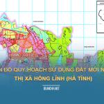 Tải về bản đồ quy hoạch sử dụng đất Thị xã Hồng Lĩnh (Hà Tĩnh)