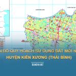 Tải về bản đồ quy hoạch sử dụng đất huyện Kiến Xương (Thái Bình)