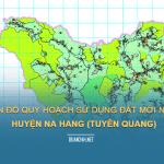 Tải về bản đồ quy hoạch sử dụng đất huyện Na Hang (Tuyên Quang)