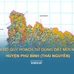 Tải về bản đồ quy hoạch sử dụng đất huyện Phú Bình (Thái Nguyên)