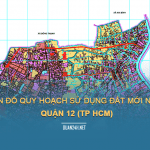 Tải về bản đồ quy hoạch sử dụng đất Quận 12 (TP HCM)