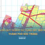 Tải về bản đồ quy hoạch sử dụng đất Thành phố Sóc Trăng