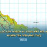 Tải về bản đồ quy hoạch sử dụng đất huyện Tân Sơn (Phú Thọ)