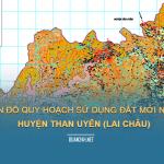 Tải về bản đồ quy hoạch sử dụng đất huyện Than Uyên (Lai Châu)