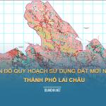 Tải về bản đồ quy hoạch sử dung đất Thành phố Lai Châu