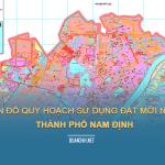 Tải về bản đồ quy hoạch sử dụng đất Thành phố Năm Định