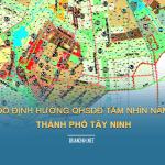 Tải về bản đồ định hướng quy hoạch sử dụng đất TP Tây Ninh tầm nhìn 2050