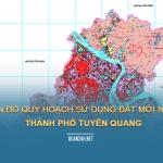 Tải về bản đồ quy hoạch sử dụng đất TP Tuyên Quang