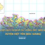 Tải về bản đồ quy hoạch sử dụng đất huyện Việt Yên (Bắc GIang)