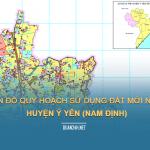 Tải về bản đồ quy hoạch sử dụng đất huyện Ý Yên (Nam Định)