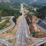 Phân làn các tuyến đường nối vào đường cao tốc La Sơn - Tuý Loan