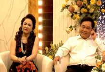 """Vợ chống doanh nhân Dũng """"lò vôi"""" và bà Nguyễn Phương Hằng"""