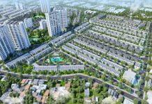 Phối cảnh tổng thể Khu đô thị Đại Phước Molita