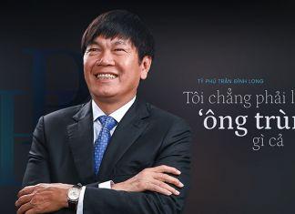 Doanh nhân Trần Đình Long, ông chủ của Tập đoàn Hòa Phát