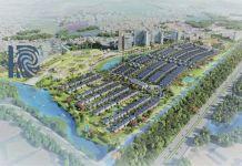 Phối cảnh tổng thể dự án Khu đô thị ID Junction Long Thành