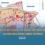 Tải về bản đồ kế hoạch sử dụng đất huyện Bàu Bàng (Bình Dương)