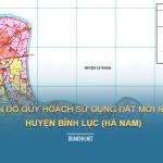 Tải về bản đồ quy hoạch sử dụng đất huyện Bình Lục (Hà Nam)