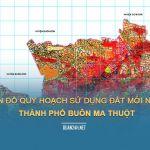 Tải về bản đồ quy hoạch sử dụng đất Thành phố Buôn Ma Thuột