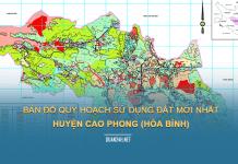 Tải về bản đồ quy hoạch sử dụng đất huyện Cao Phong (Hòa Bình)