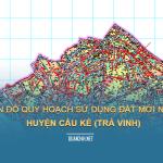 Tải về bản đồ quy hoạch sử dụng đất huyện Cầu Kè (Trà Vinh)