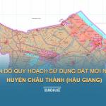 Tải về bản đồ quy hoạch sử dụng đất huyện Châu Thành (Hậu Giang)