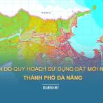 Tải về bản đồ quy hoạch sử dụng đất Thành phố Đà Nẵng