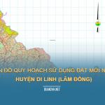 Tải về bản đồ quy hoạch sử dụng đất huyện Di Linh (Lâm Đồng)