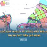 Tải về bản đồ quy hoạch Thị xã Duy Tiên (Hà Nam)