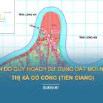 Tải về bản đồ quy hoạch sử dụng đất Thị xã Gò Công (Tiền Giang)