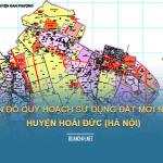 Tải về bản đồ quy hoạch sử dụng đất huyện Hoài Đức (Hà Nội)