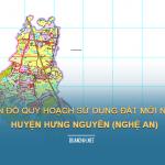 Tải về bản đồ quy hoạch huyện Hưng Nguyên (Nghệ An)