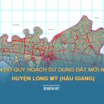 Tải về bản đồ quy hoạch sử dụng đất huyện Long Mỹ (Hậu Giang)