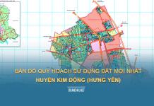 Tải về bản đồ quy hoạch sử dụng đất huyện Kim Động (Hưng Yên)