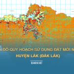 Tải về bản đồ quy hoạch sử dụng đất huyện Lắk (Đắk Lắk)
