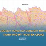 Tải về bản đồ quy hoạch sử dụng đất Thành phố Mỹ Tho (Tiền Giang)