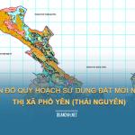 Tải về bản đồ quy hoạch sử dụng đất Thị xã Phổ Yên (Thái Nguyên)