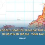 Tải về bản đồ quy hoạch sử dụng đất Thị xã Phú Mỹ (Bà Rịa Vũng Tàu)