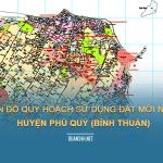 Tải về bản đồ quy hoạch sử dụng đất huyện Phú Quý (Bình Thuận)