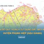 Tải về quy hoạch sử dụng đất huyện Phụng Hiệp (Hậu Giang)