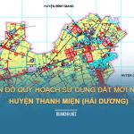 Tải về bản đồ quy hoạch sử dụng đất huyện Thanh Miện (Hải Dương)