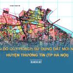 Tải về bản đồ quy hoạch sử dụng đất huyện Thường Tín (TP Hà Nội)